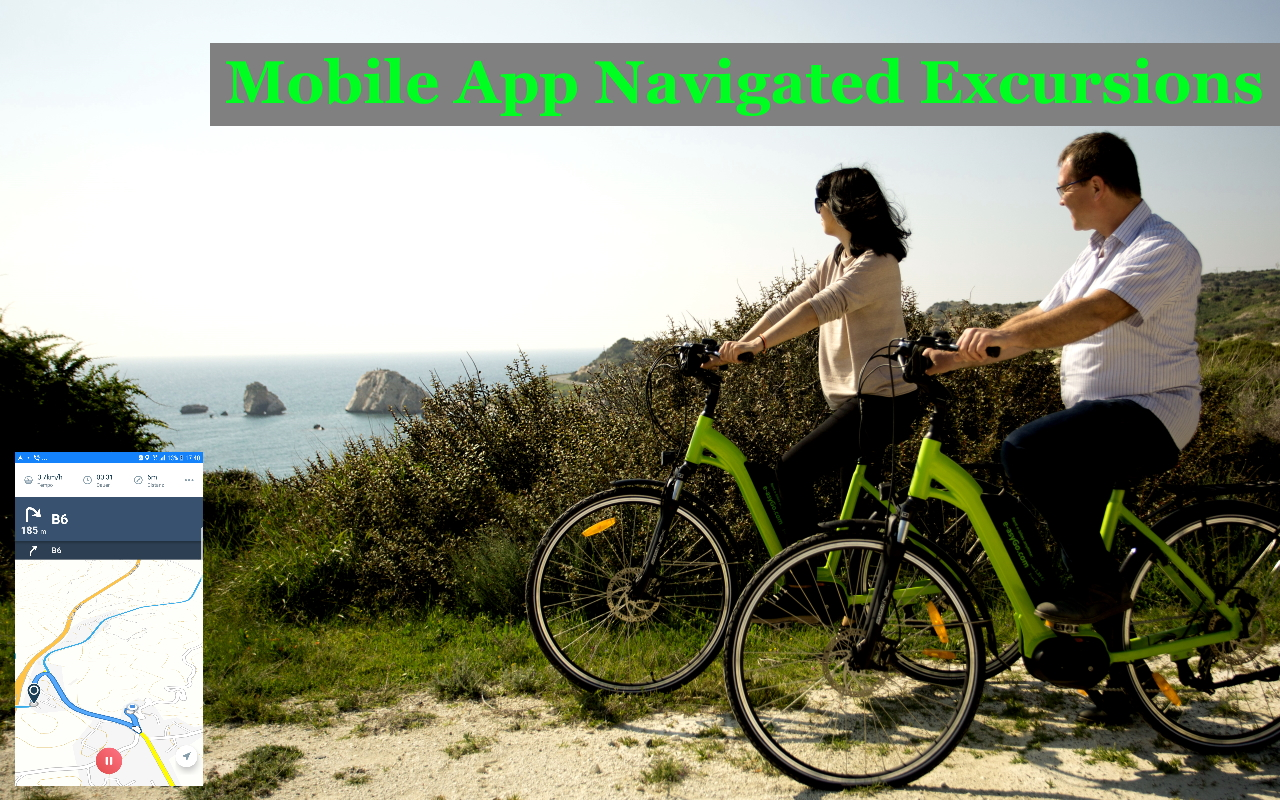 tours and excursions by e-bike in Cyprus